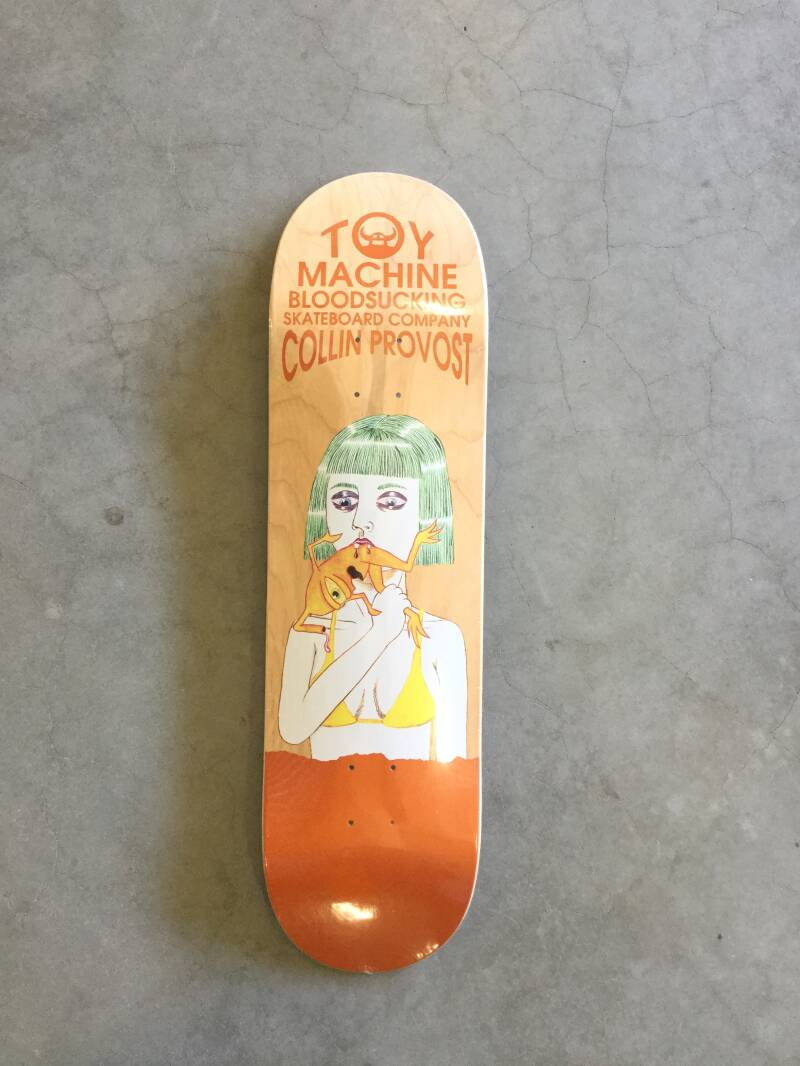 Skateboard • Toy Machine • 8.5 inch • Provost bloodsucking