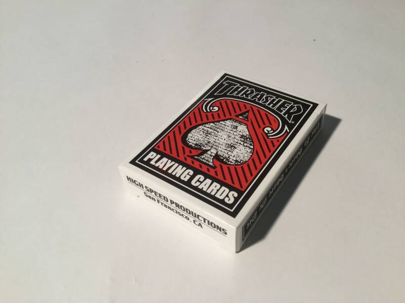 Playing cards • Thrasher
