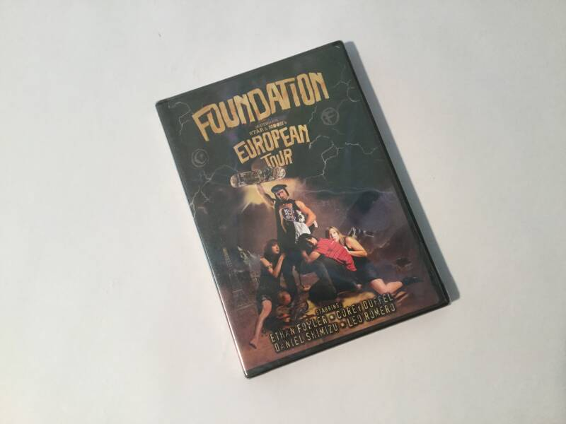 DVD • Skateboard • Foundation European tour