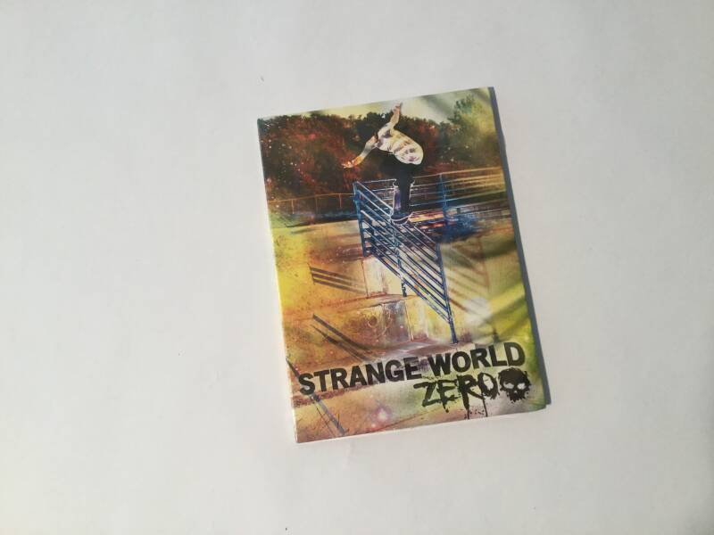 DVD • Skateboard • Zero • Strange world