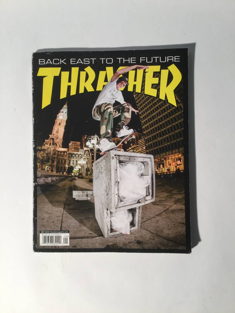 Magazine • Thrasher • sept 2018