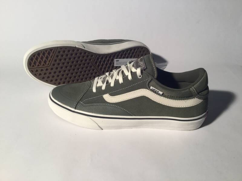 Shoes • Vans • TNT • green / marshmallow • Size  11 US / 44,5 EU