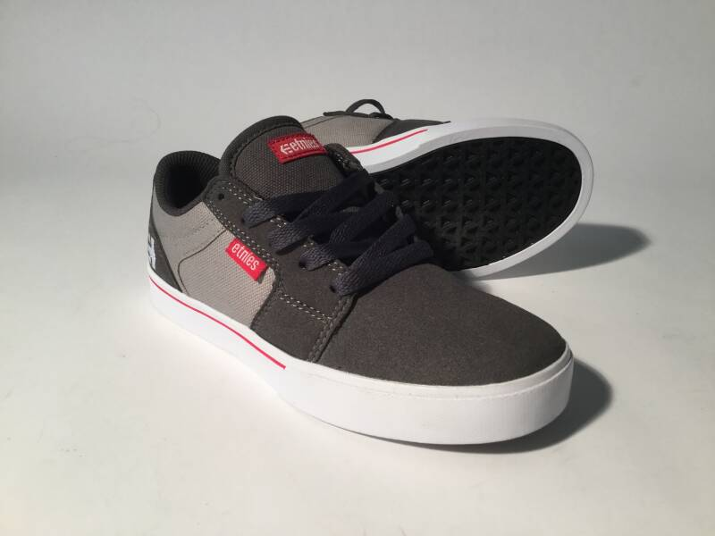 Shoes • Etnies • Kids • Bargels • dark grey/red • 2us / 34eu