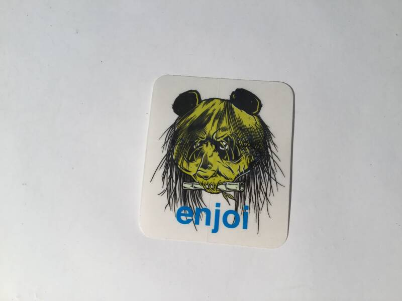 Sticker Enjoi 80's Head 8cm