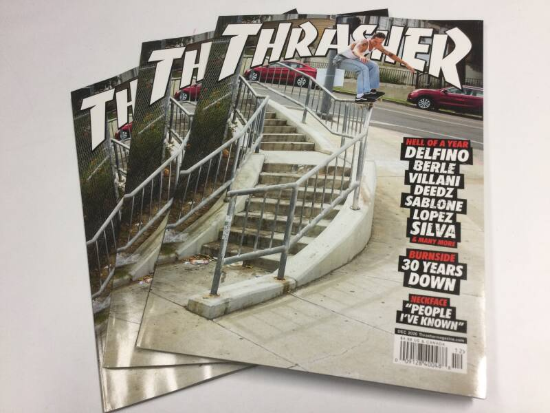 Thrasher • magazine • Dec 2020