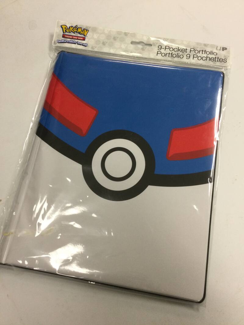 Pokémon • Great ball • 9 Pocket Portfolio