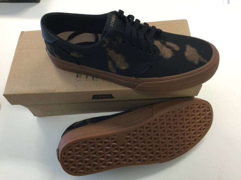 New Shoe Stray Fairfax Bleached Black  us10,5