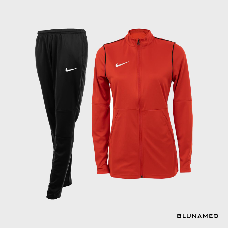 Nike trainingspak (dames) rood
