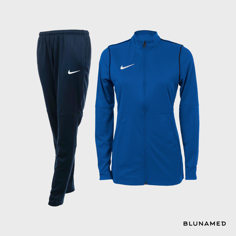 Nike trainingspak (dames) royal blauw
