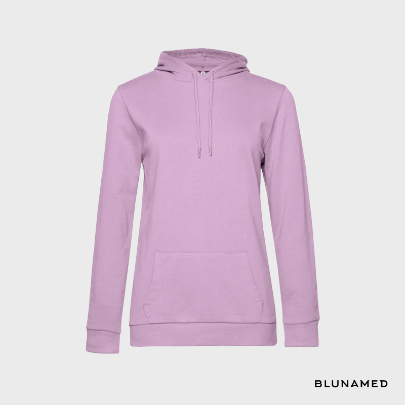Hoodie dames (candy pink)