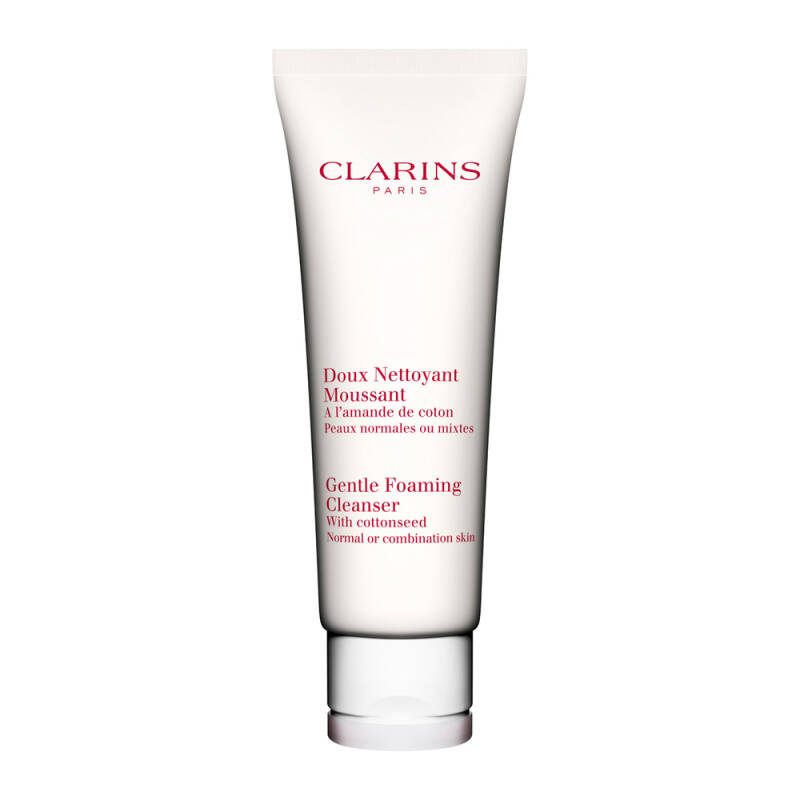 Clarins Gentle Foaming Cleanser with Cottonseed - Normal/Combination Skin