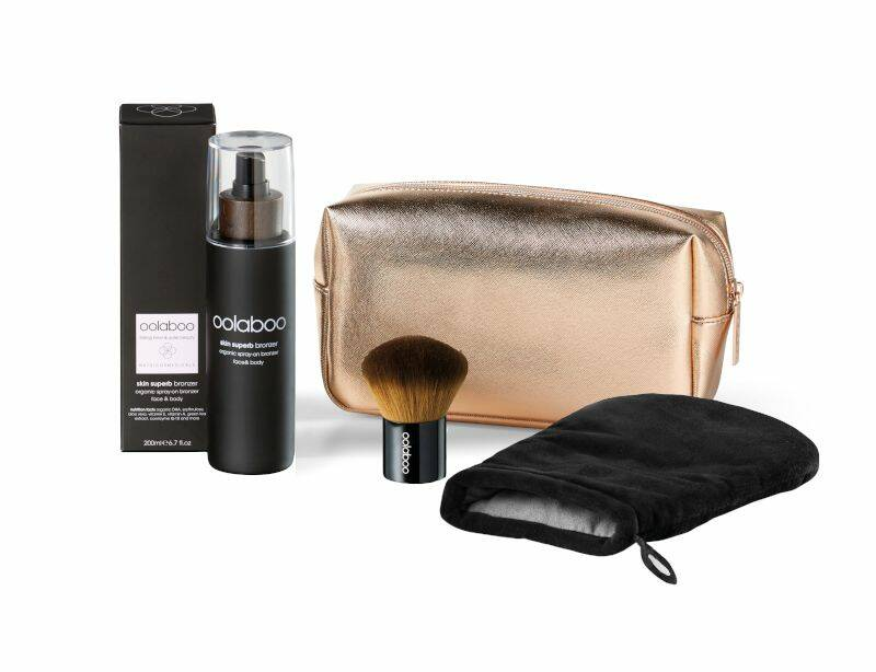 Oolaboo Skin Supurb Organic Spray-on Bronzer Starter Kit