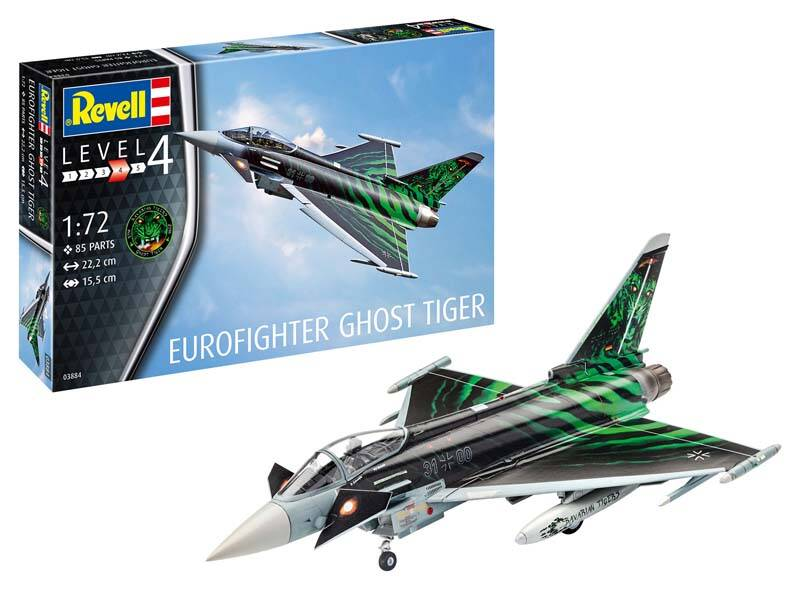 "Revell Model Set Eurofighter ""Ghost Tiger"" Scale: 1:72 63884"