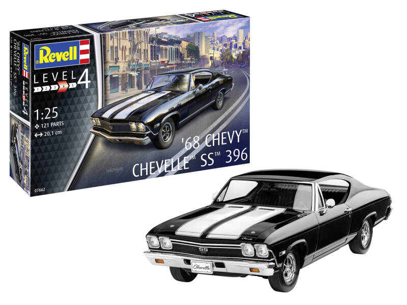 1968 Chevy Chevelle Scale: 1:25  67662