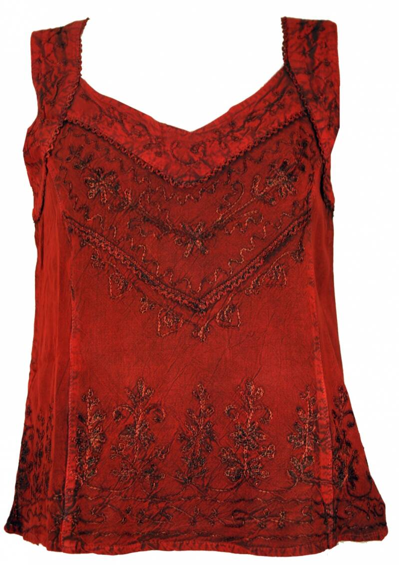 Boho hippie indian top rood