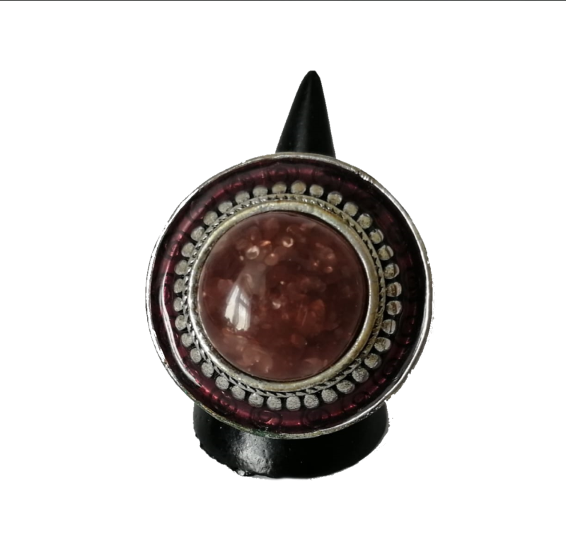 Gipsy ring rood