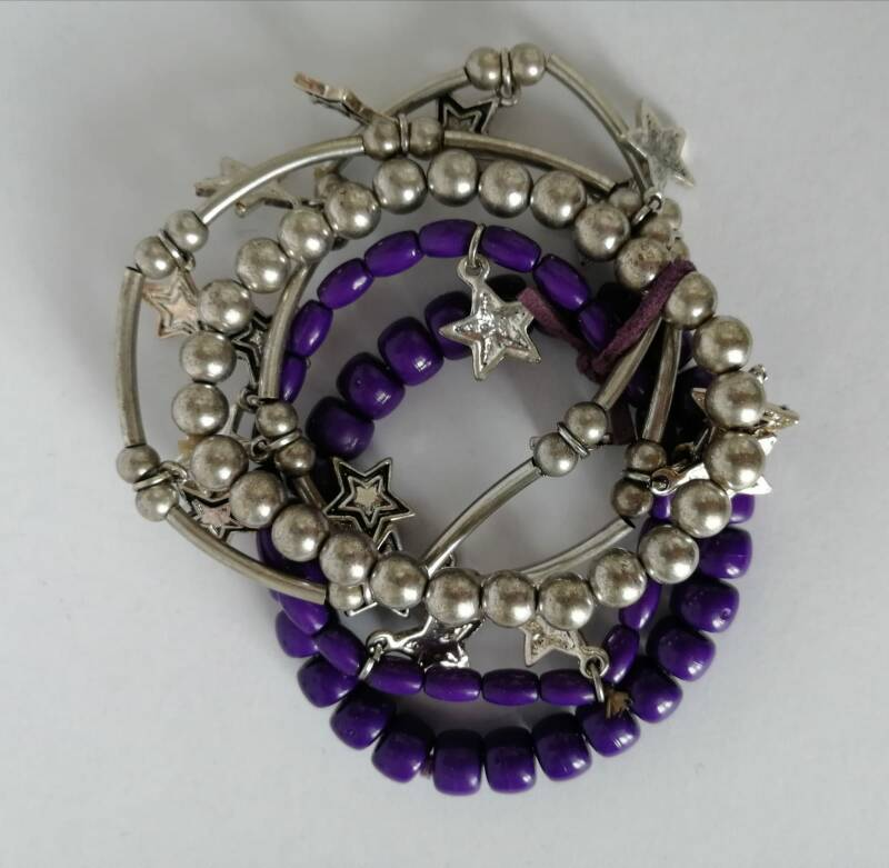 Armband paas zilver