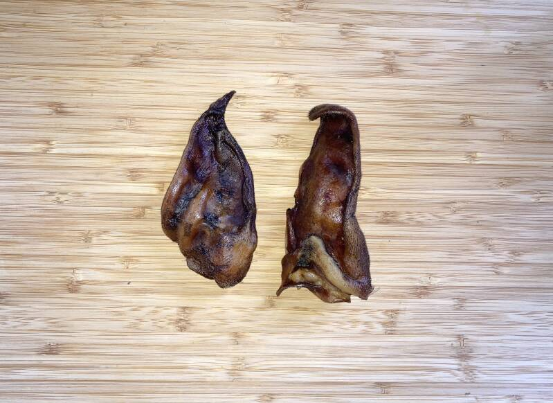 2 Pig Ears or 2 Pig Snout