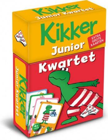 Identity Games Kikker Junior Kwartet