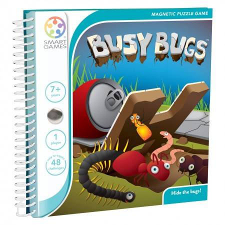 Magnetic Travel Games Busy Bugs