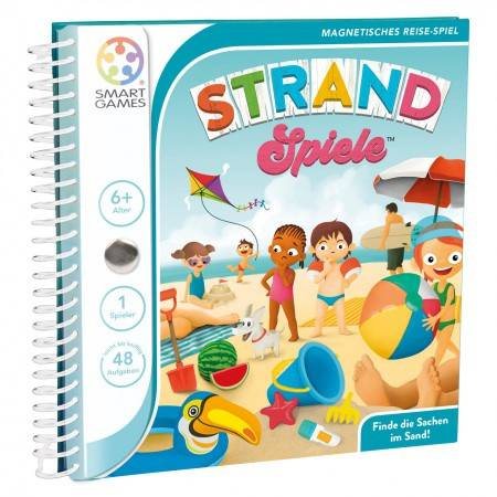 Magnetic Travel Games Puzzle Beach
