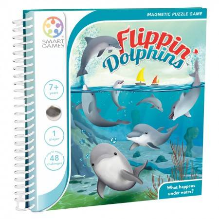 Magnetic Travel Smart Games Flippin Dolphins