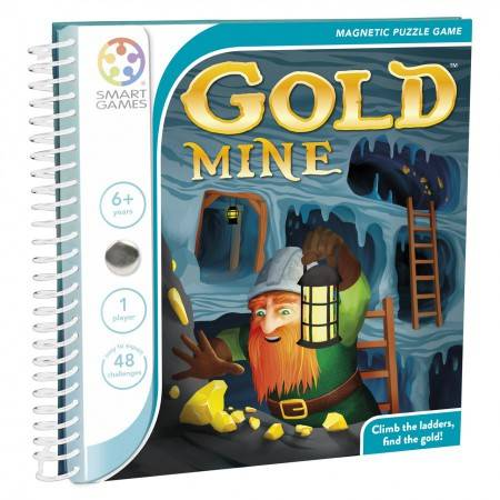Magnetic Travel Games Gold Mine