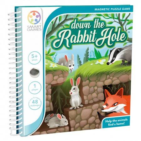 Smart Games Magnetic Travel Down the Rabbit Hole