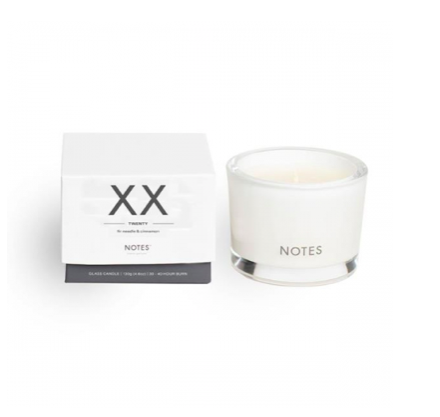 Notes S Candle