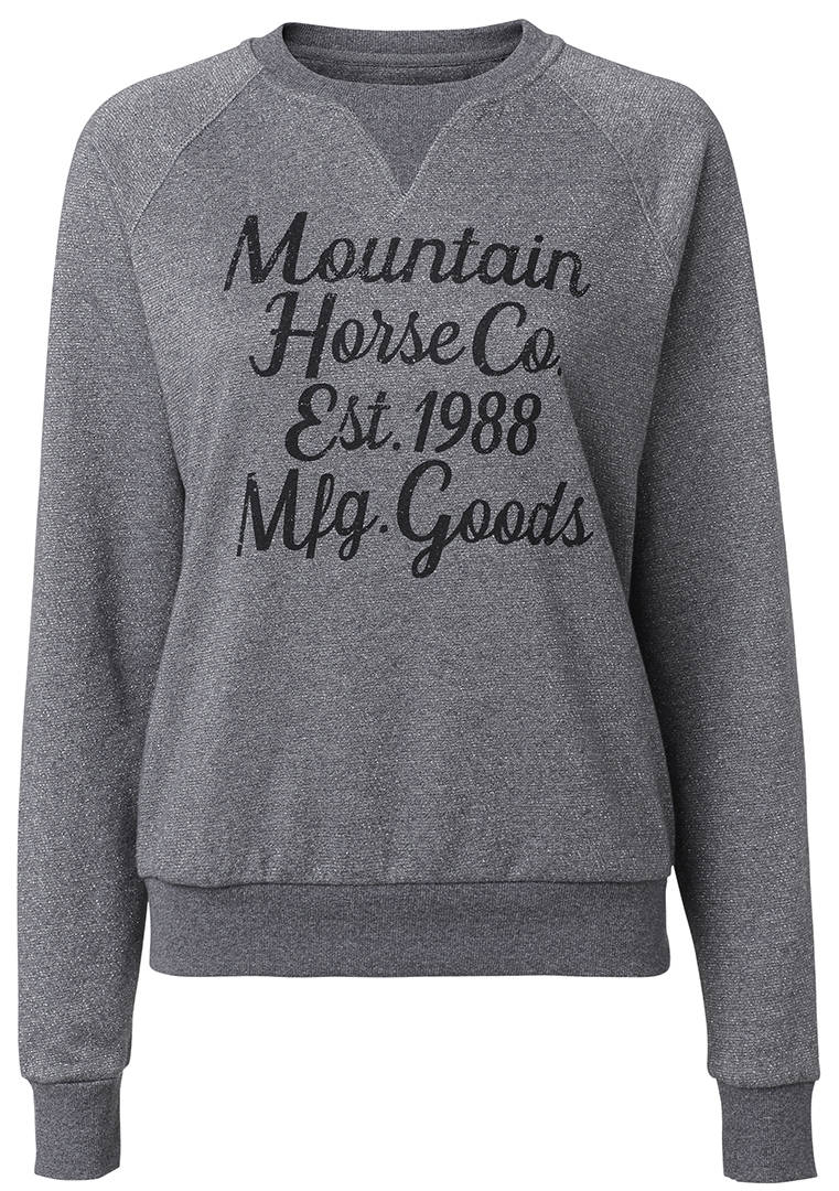 Mountainhorse street sweater glitter