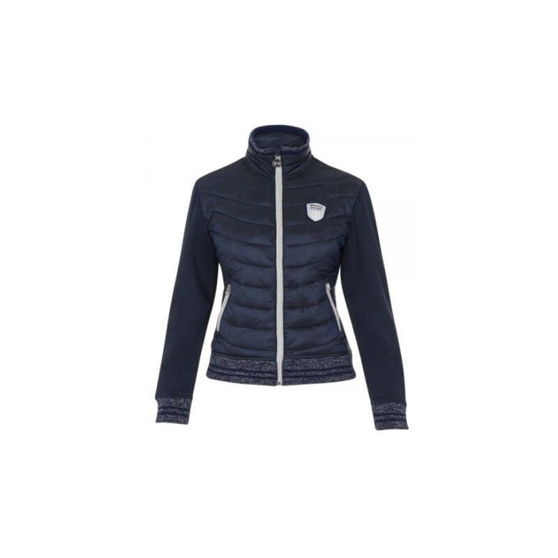 Imperial riding performance jacket sparkley blue