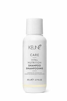 Keune Care Vital Nutrition Shampoo 80 ml.