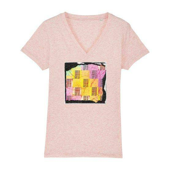 Downstairs - Women T-Shirt V-Neck