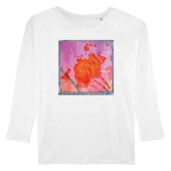 Punky Rose - Women T-Shirt Long Sleeves