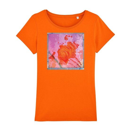 Punky Rose - Women T-Shirt Round Neck