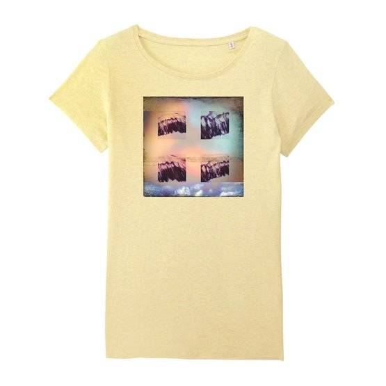 Wings of Nature - Women T-Shirt Round Neck