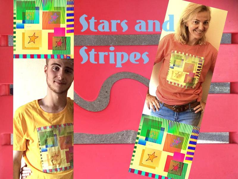 Stars and Stripes (Hand crafted)