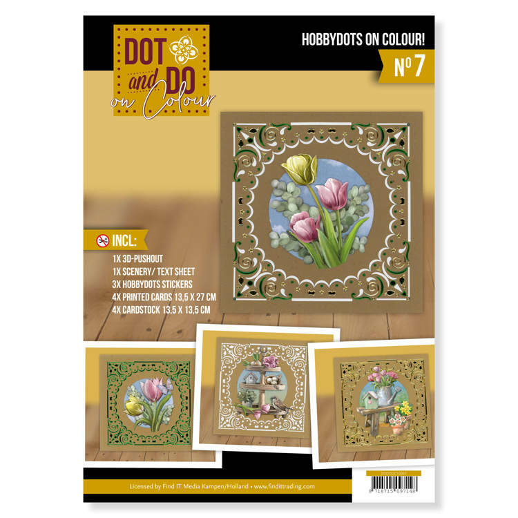 DODOOC10007 Dot and Do on Colour 7