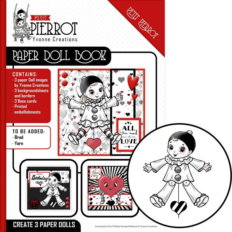 YCP001 Paper Doll Book