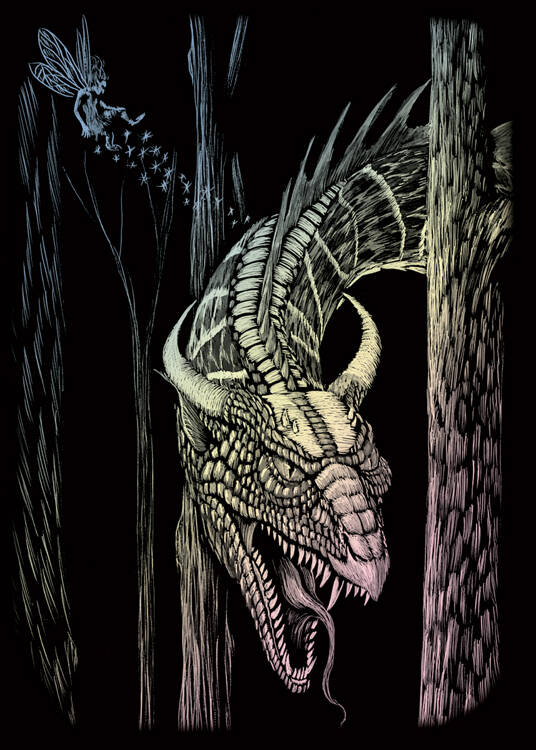 HOLOMIN105 - FOREST DRAGON HOLOGRAPHIC