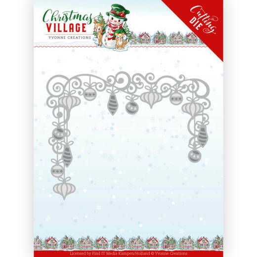 YCD10211 Christmas Baubles - Christmas Village