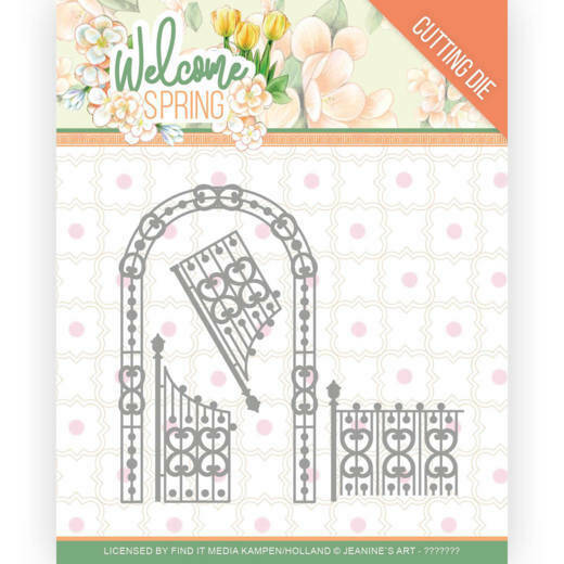 JAD10113 Welcome Spring - Arch and Fence