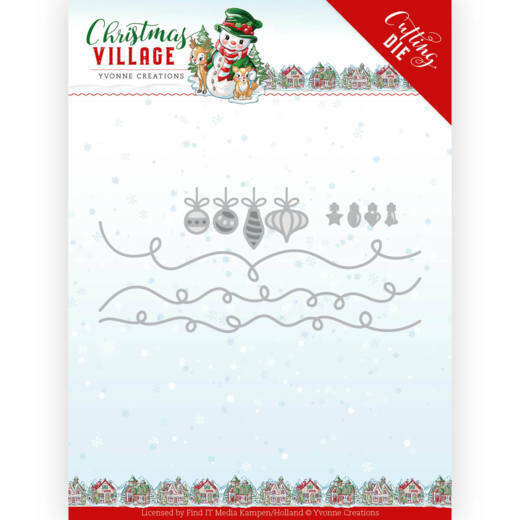 YCD10212 Christmas Lights - Christmas Village