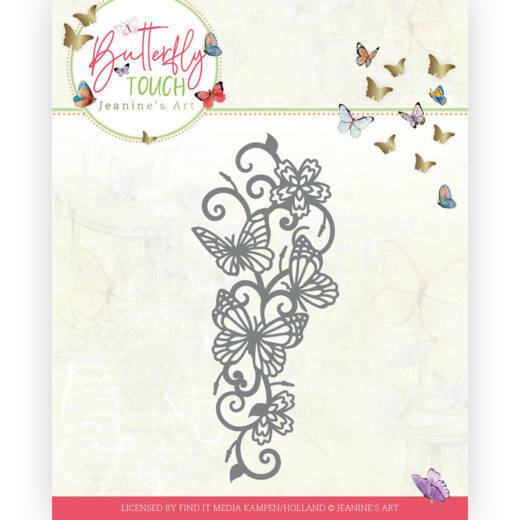 JAD10121 Butterfly Touch - Butterfly Border