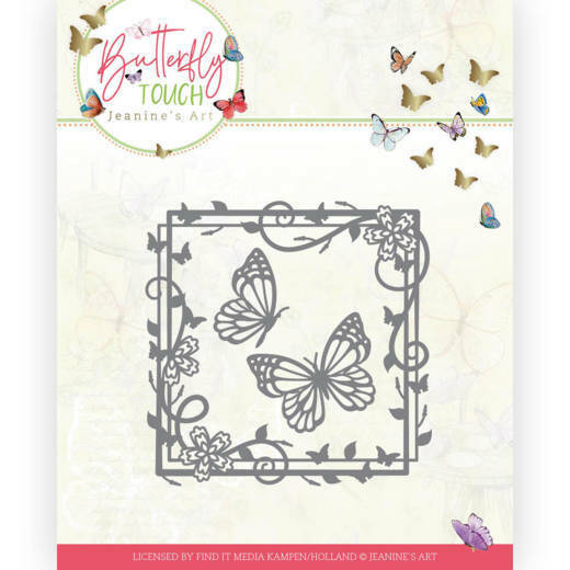 JAD10122 Butterfly Touch - Butterfly Square