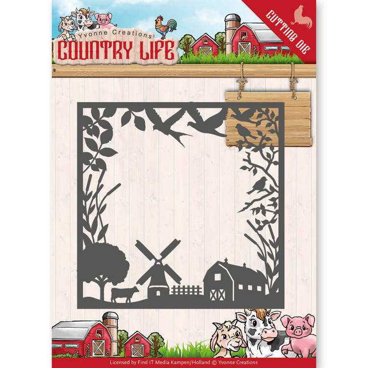 YCD10123 Life country frame