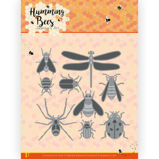 JAD10127 Humming Bees - All Kinds of Insects