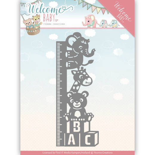 YCD10136 Growth Chart - Welcome baby