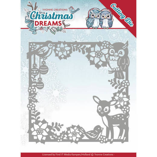 YCD10140 Christmas animal frame