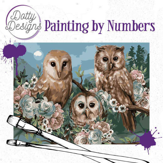 DDP1015 Romantic Owls